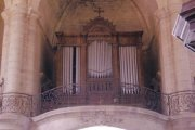 Orgue de Barsac, Église Saint-Vincent