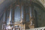 Orgue de Foix, Abbatiale Saint-Volusien