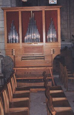 Orgue d'Eysines, Église Saint-Martin