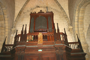 Orgue d'Excideuil, Église Saint-Thomas