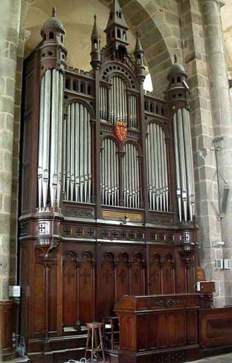 Orgue du Dorat, Collégiale Saint-Pierre