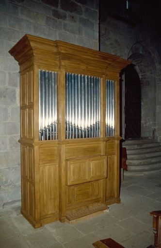 Orgue de Solignac, Église abbatiale Saints Pierre et Paul