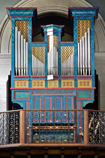 Orgue de Morcenx, Église Saint-Vincent de Paul