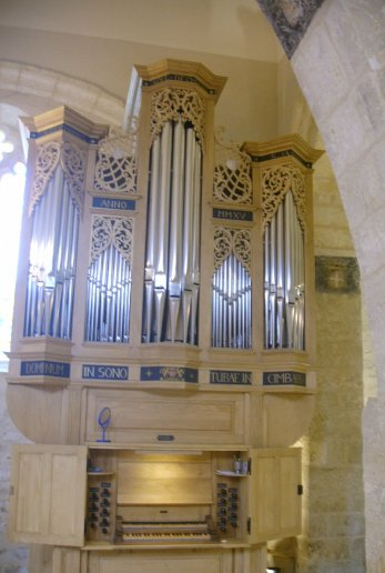 Orgue de Sorges, Église Saint-Germain d'Auxerre