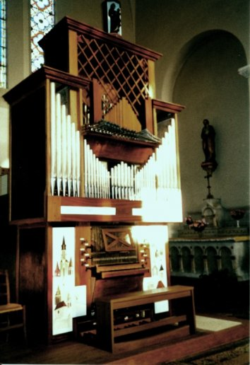 Orgue de Mussidan, Église Saint-Georges