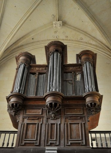 Orgue d'Oiron, Collégiale Saint-Maurice