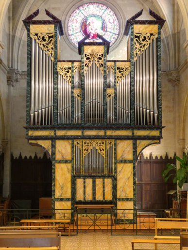Orgue de Bordeaux, Église Saint-Augustin