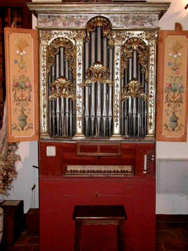 Orgue de Montpon-Ménestérol, Auditorium (Positif napolitain)