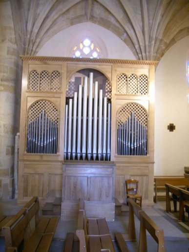 Orgue de Targon, Église Saint-Romain