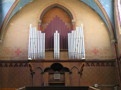 Orgue de Castelmoron-sur-Lot, Église Saint-Hilaire