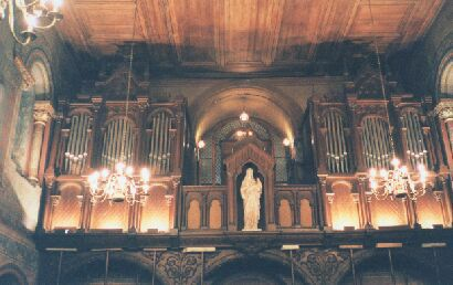 Orgue de Bouliac, Église Saint-Siméon