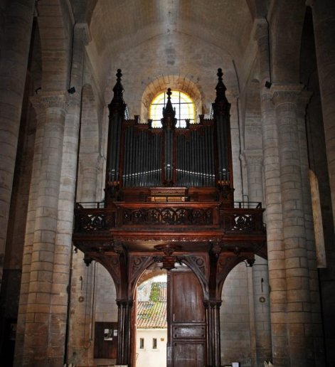 Orgue de Parthenay, Eglise Sainte-Croix