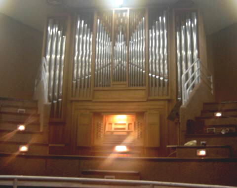 Orgue de Bordeaux, Conservatoire Jacques Thibaud