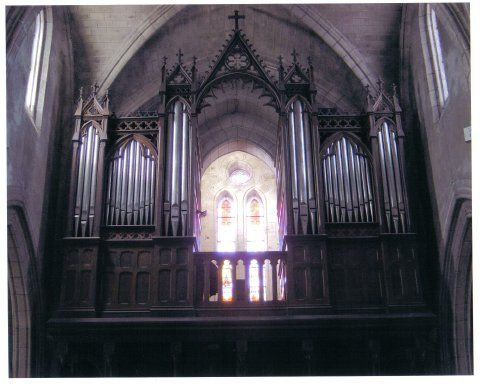 Orgue de Mugron, Église Saint-Laurent