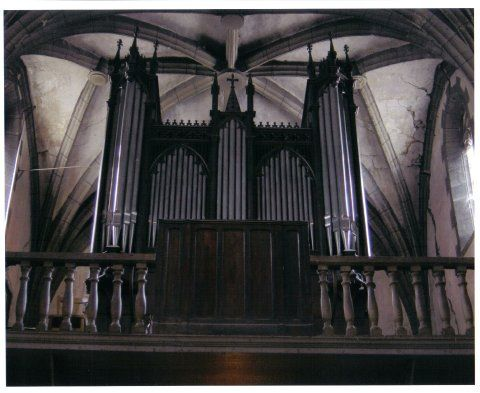 Orgue de Villeneuve-sur-Lot, Église Saint-Étienne