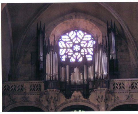 Orgue d'Agen, Église Saint-Hilaire