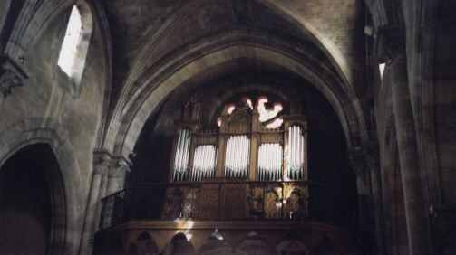 Orgue de Bourg, Église Saint-Géronce