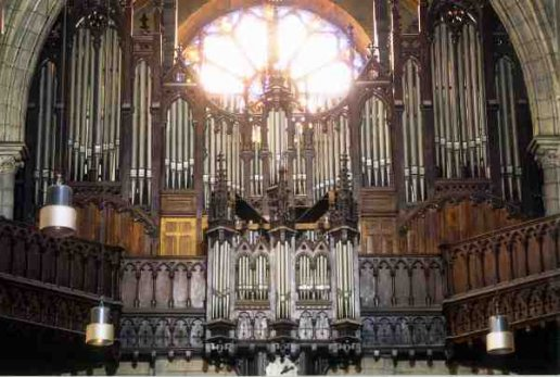 Orgue de Pau, Église Saint-Jacques