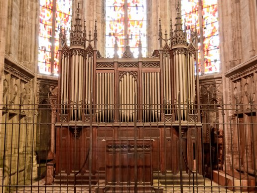 Orgue de Bordeaux, Basilique Saint-Michel (Orgue de Choeur)