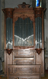 Orgue de Terrasson-Lavilledieu, Église Saint-Sour