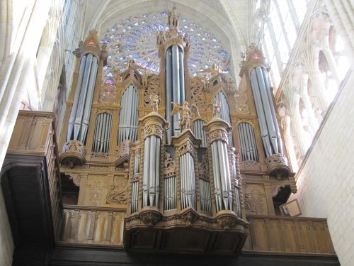 Orgue de Tours, Cathédrale Saint-Gatien