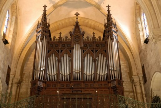Orgue de Bergerac, Église Saint-Jacques
